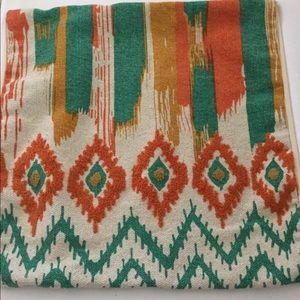 Aztec Boho Large Pillow Slip Covers (2)